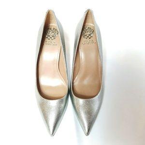 Silver Vince Camuto Heels